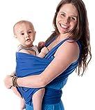 Babytragetücher von Cuddlebug mit Gratisversand - 5 Farboptionen - Baby Carrier Ring Sling - Babytragetuch Neugeborene - Elastisches Tragetuch
