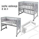 safe asleep von roba Stubenbett 3 in 1 Sternenzauber Beistellbett