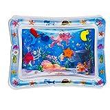 Splashin'kids baby spielzeug Aufblasbarer Bauch Zeit Premium Wassermatte Säuglinge und Kleinkinder ist die perfekte Spaßzeit Spiel Aktivitätszentrum Das Stimulationswachstum Ihres Babys