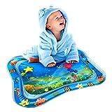 Wassermatte Baby, Swonuk Wasser-Spielmatte mit Spaß Aktivitätszentrum von Spielzeug Das Wachstum von Kindern Stimulieren Aufblasbare und Wasserfüllung Wasserpark des Frühen Kindes
