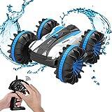 allcaca RC Auto Ferngesteuertes Auto 4WD Autos Ferngesteuert 2.4GHz 60M Fernsteuerung 15MPH 1:18 Skala Spielzeug Fahrzeug mit 360° Spins für Kinder Blau