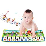 Musical Teppich, BelleStyle Baby Musical Piano Spielteppich Matte Musikinstrument Spielzeug Touch Spiel Keyboard Gym Play Mat für Kinder