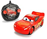 Dickie Toys 203084003 - RC Cars 3 Turbo Racer Lightning McQueen, RC-Fahrzeug, ferngesteuertes Auto, 1:24, 17cm