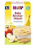 Hipp Bio-Getreide-Brei Guten-Morgen-Brei Bircher-Müesli, 6er Pack (6 x 250g)