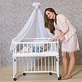 babybay Rollensatz Parkett für alle Modelle, weiß