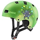 Uvex Unisex Kinder Kid 3 cc Kinderfahrradhelm, green mat, 51-55 cm