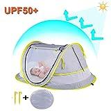 StillCool Baby Reisebett Portable Pop Up Sommer Strand Moskitonetz & Sun Shelter mit 2 Pegs Falten Infant Krippe Moskitonetz