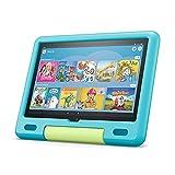 Das neue Fire HD 10 Kids-Tablet│ Ab dem Vorschulalter | 25,6 cm (10,1 Zoll) großes Full-HD-Display (1080p), 32 GB, kindgerechte Hülle in Aquamarin