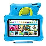 "7""Kinder Tablet,2GB RAM 16GB ROM, AWOW Funtab 701 Tablet Kinder COPPA Certified KIDOZ& Google Play Vorinstalliert, WiFi&Blutooth,Android 10 Tablet für Kinder mit Touchstift, kindgerechter Hülle"