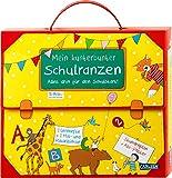 Schlau für die Schule: Schlau für die Schule: Mein kunterbunter Schulranzen (Buch-Set für den Schulstart): Mit 2 Lernheften, 2 Mal- und Rätselblöcken, Stundenplan und Abc-Miniposter