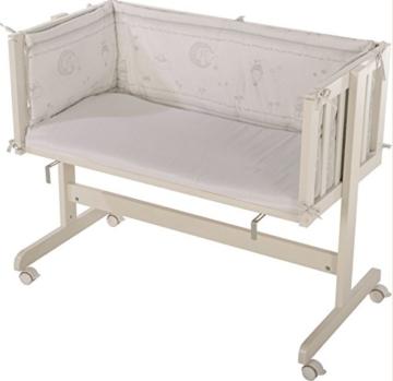 roba beistellbett gl cksengel grau. Black Bedroom Furniture Sets. Home Design Ideas