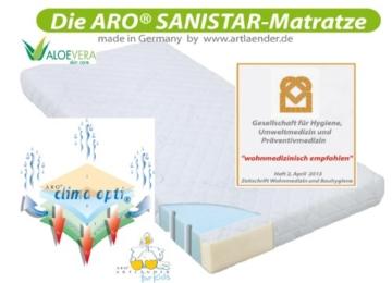 ARO® Sanistar Matratze 70 x 140 cm -
