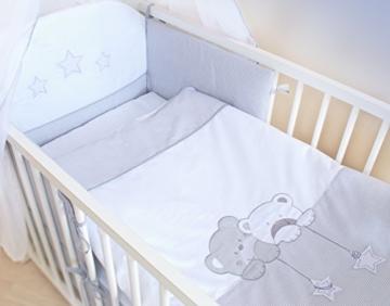 Kinderzimmer komplett set wickelkommode babybett mit for Kinderzimmer komplett auto