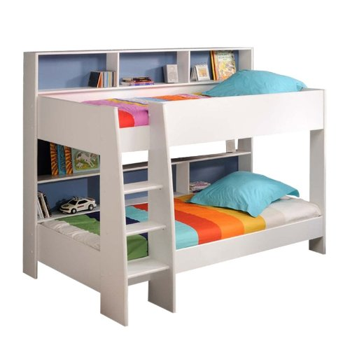 prisot 90x200 kinder etagenbett doppelstockbett. Black Bedroom Furniture Sets. Home Design Ideas
