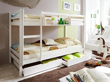 Ticaa Etagenbett Erni : Ticaa etagenbett rene weiß einzel marcel« mit