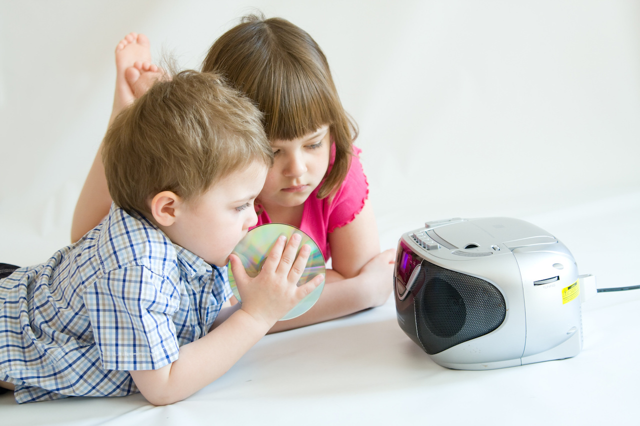 Kinder CD Player Test